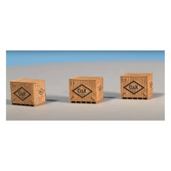 Caja de madera, OK.