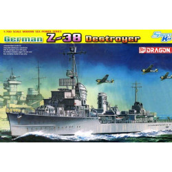 Destructor alemán Z-38.