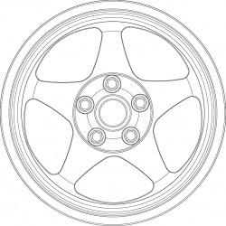 SB EVO tire and wheel set.