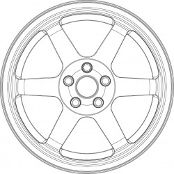 SB 37 tire and wheel set.
