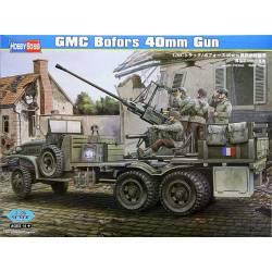 Camión GMC con cañón Bofors de 40mm. HOBBY BOSS 82459