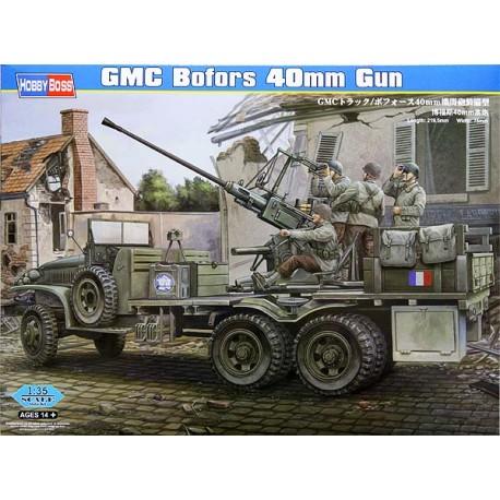 GMC truck with Bofors 40mm gun. HOBBY BOSS 82459
