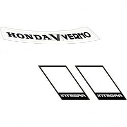 Honda Verno vinyl sheet.