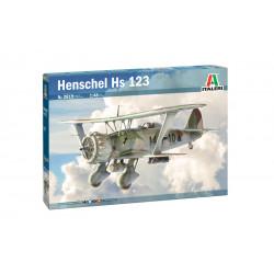 Avión de combate Henschel Hs 123.