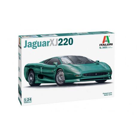 Jaguar XJ 220.