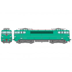 Electric locomotive BB-9267, SNCF. Sound.