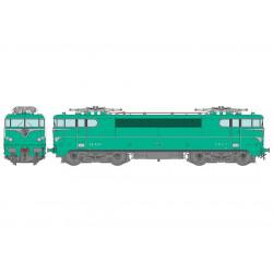 Locomotora eléctrica BB-9267, SNCF. Sonido.