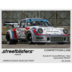 "Silver| Porsche 911 RSR ""Martini"" (30ml)."