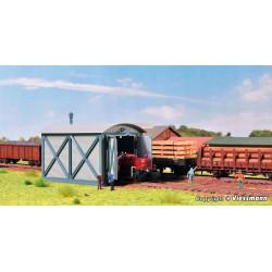 Depósito de locomotoras.