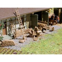 Farmyard accessories.