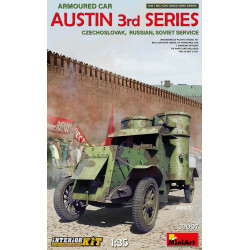 Austin armoured car 3rd Series, WWI.