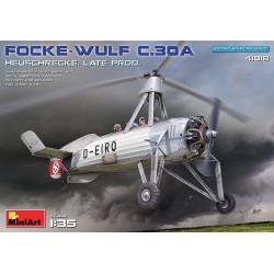 Focke-Wulf FW C.30A Heuschrecke, producción tardía.