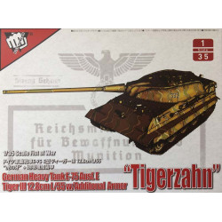 German heavy tank E-75 Ausf.E tiger III 12.8cm L/55.