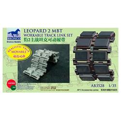 Leopard 2 MBT track.