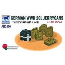 German WWII 20L Jerry cans.