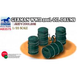 German WWII 200L Oil drums.