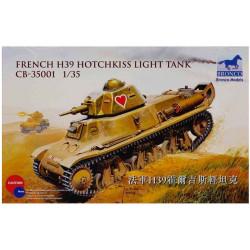 French H39 Hotchkiss light tank.