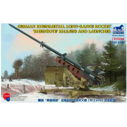"German Rheinmetall longe-range rocket ""Rheinbote"" (R.H.Z.61/9)."