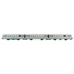 Diesel railcar 'Ferrobus' 591.300, RENFE. 3-coaches. Digital.