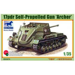 """17 pdr Self-Propelled Gun """"Archer""""."""