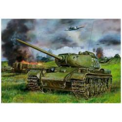 Russian heavy tank KV-85.