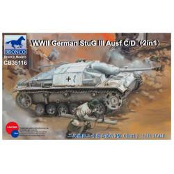 WWII German StuG III Ausf C/D.