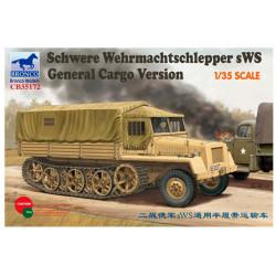 Schwere Wehrmachtschlepper sWS general cargo version.