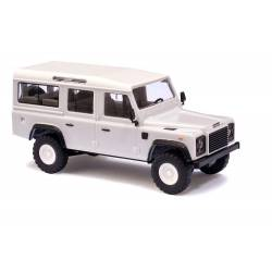 Land Rover Defender, blanco.