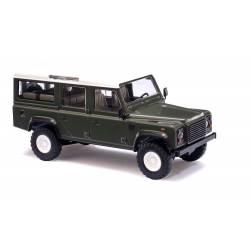 Land Rover Defender, green.