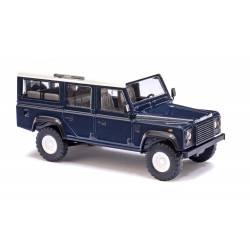 Land Rover Defender, azul.