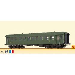 Coche de 2ª clase B9ti, SNCF.