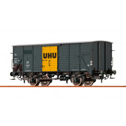 Covered freight car UHU, type G10, SNCF.