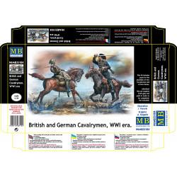 British and German Cavalrymen. MASTER BOX 35184