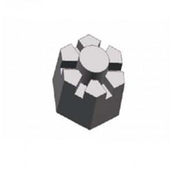 Hexagon bolt nuts (German).