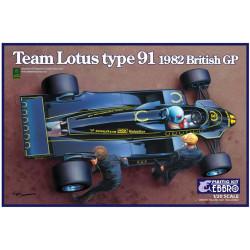 Team Lotus Type 91 1982.