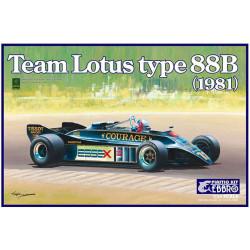 Team Lotus 88B 1981.