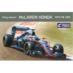 McLaren Honda MP4-30 2015 Early Season.