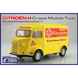 Citroën H modelo crepería móvil.