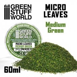 Micro hojas. Color verde medio.