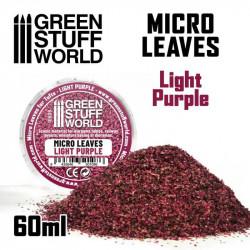 Micro leaves. Light purple.