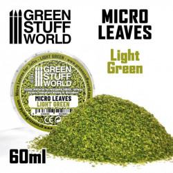 Micro hojas. Color verde claro.