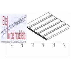 Plancha 15 x 30. Dentada 2,1 mm. EVERGREEN 4083