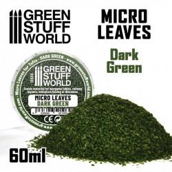 Micro hojas. Color verde oscuro.