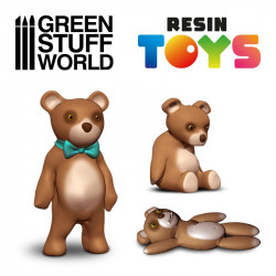 Teddy Bear Resin Set.