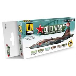 Set cazas soviéticos en la Guerra Fría. (Vol.2).