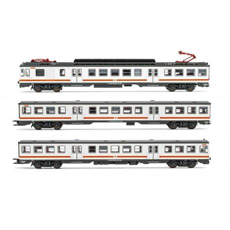 """RENFE, 3-unit EMU, class 440. """"Regionales""""."""