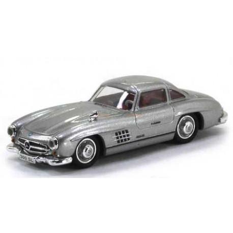 Mercedes 300 SL (W198), silver, 1954.