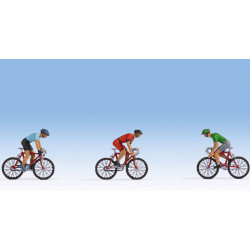 Road cyclists.