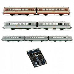 21 pins decoder 21 for RENFE 7200/7500. ESU ER301/7200R