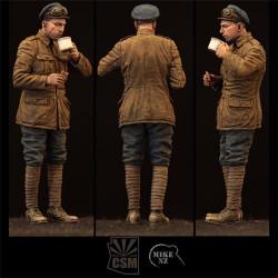 Soldado británico de la división de blindados.